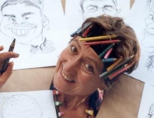 Geneviève la caricaturiste